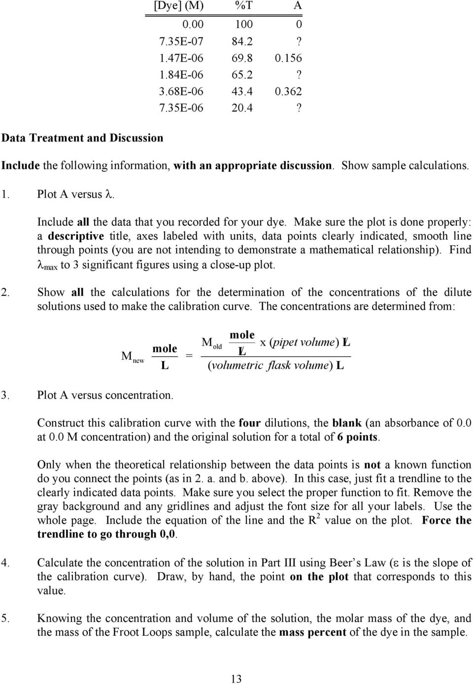 A Beer s Law Experiment - PDF