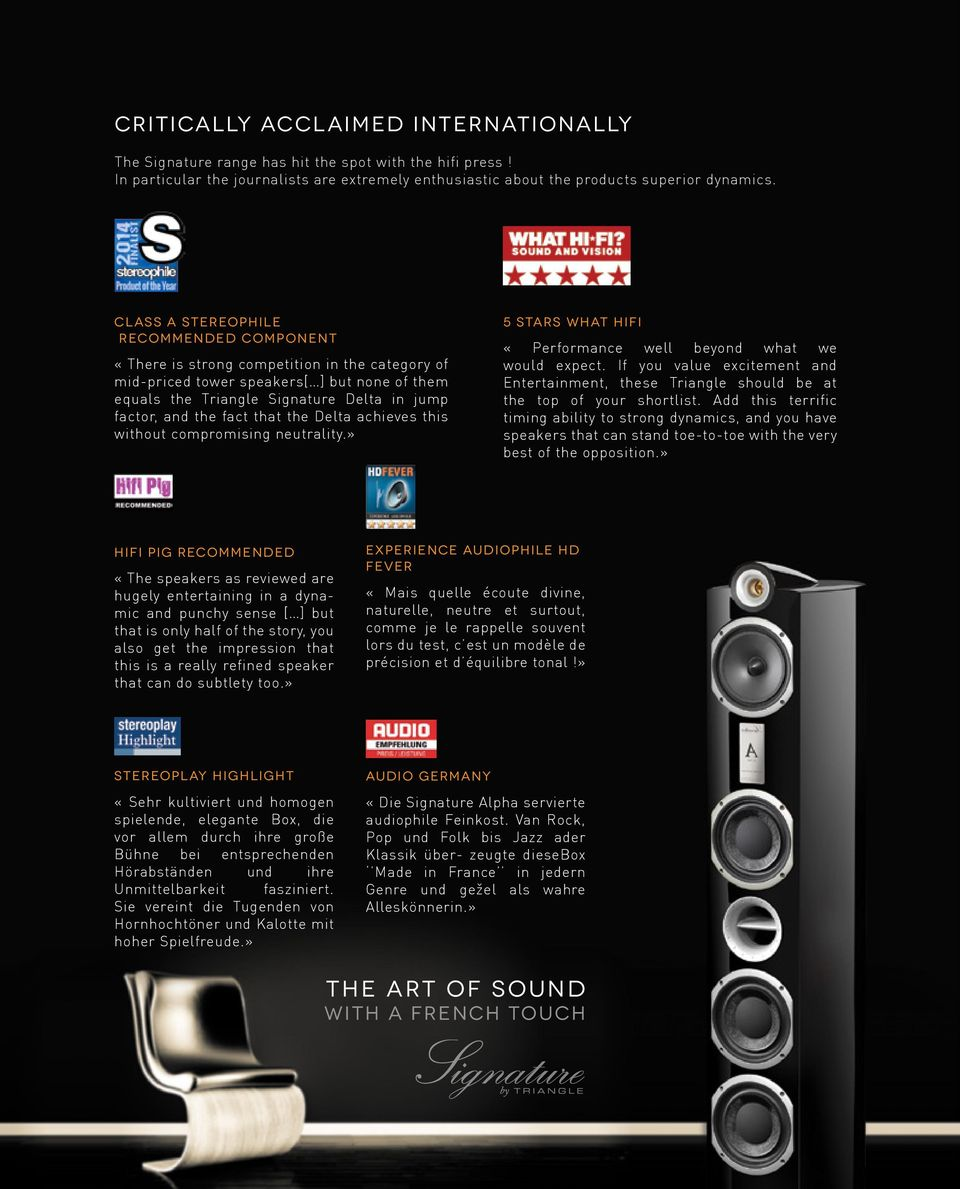 Made in France  The Art of sound with a french touch - PDF