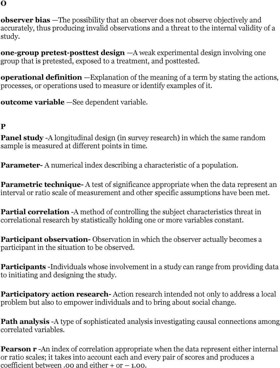 correlational research ideas