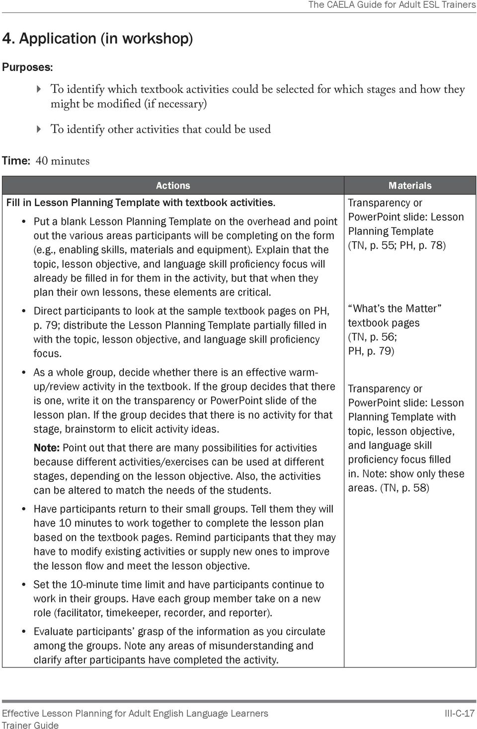 effective lesson planning for adult english language learners pdf rh docplayer net