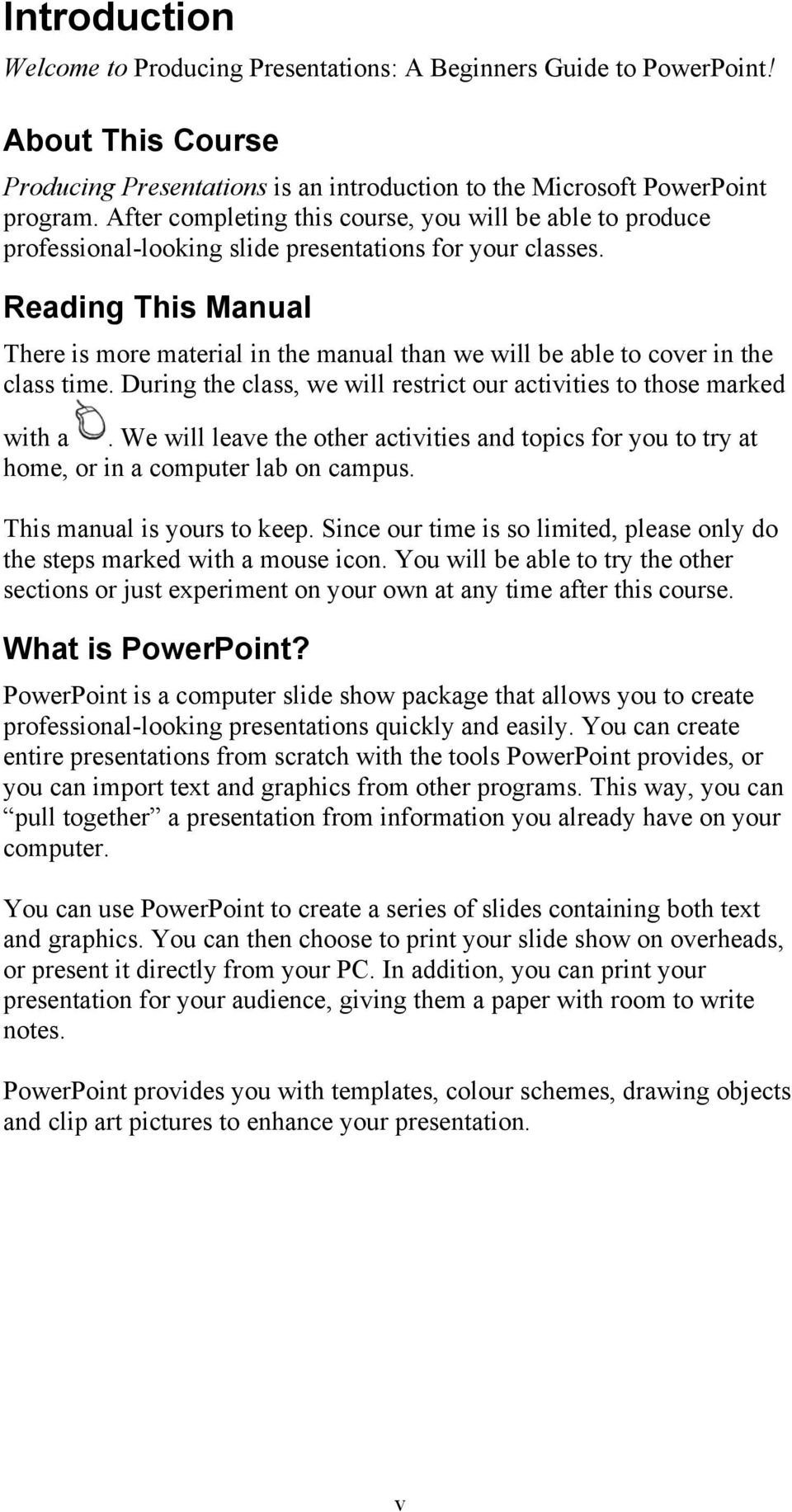 producing presentations a beginner s guide to powerpoint pdf
