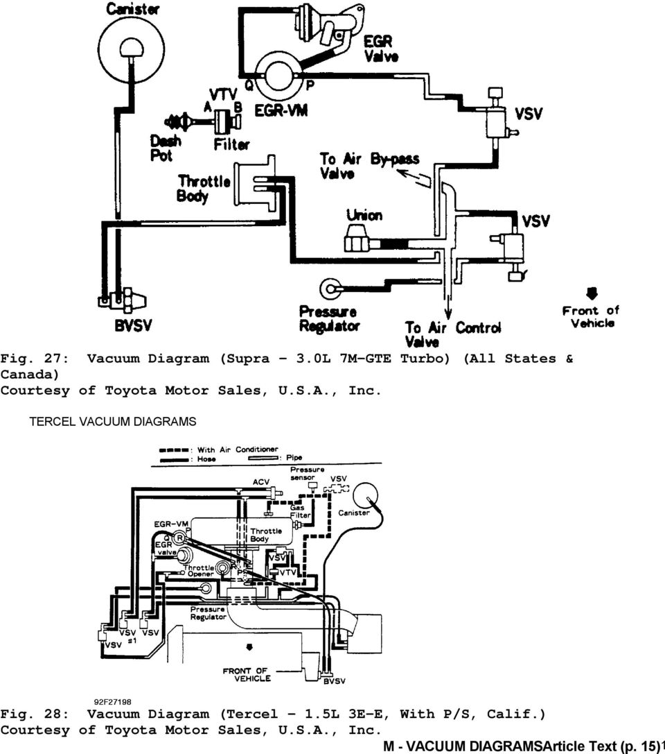 1992 engine performance toyota vacuum diagrams. camry ... 2008 corolla engine diagram