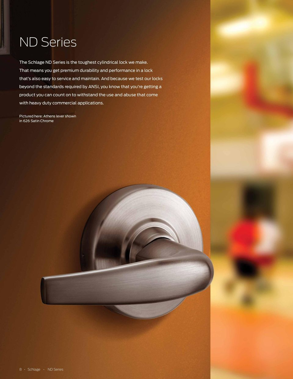 Nd Series Cylindrical Locks Pdf Schlage Door Knob Parts The Alseries Keyed Lever Lock And Because We Test Our Beyond Standards Required By You Know That
