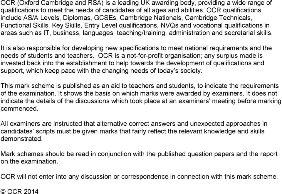 gcse science past papers ocr b712 2013