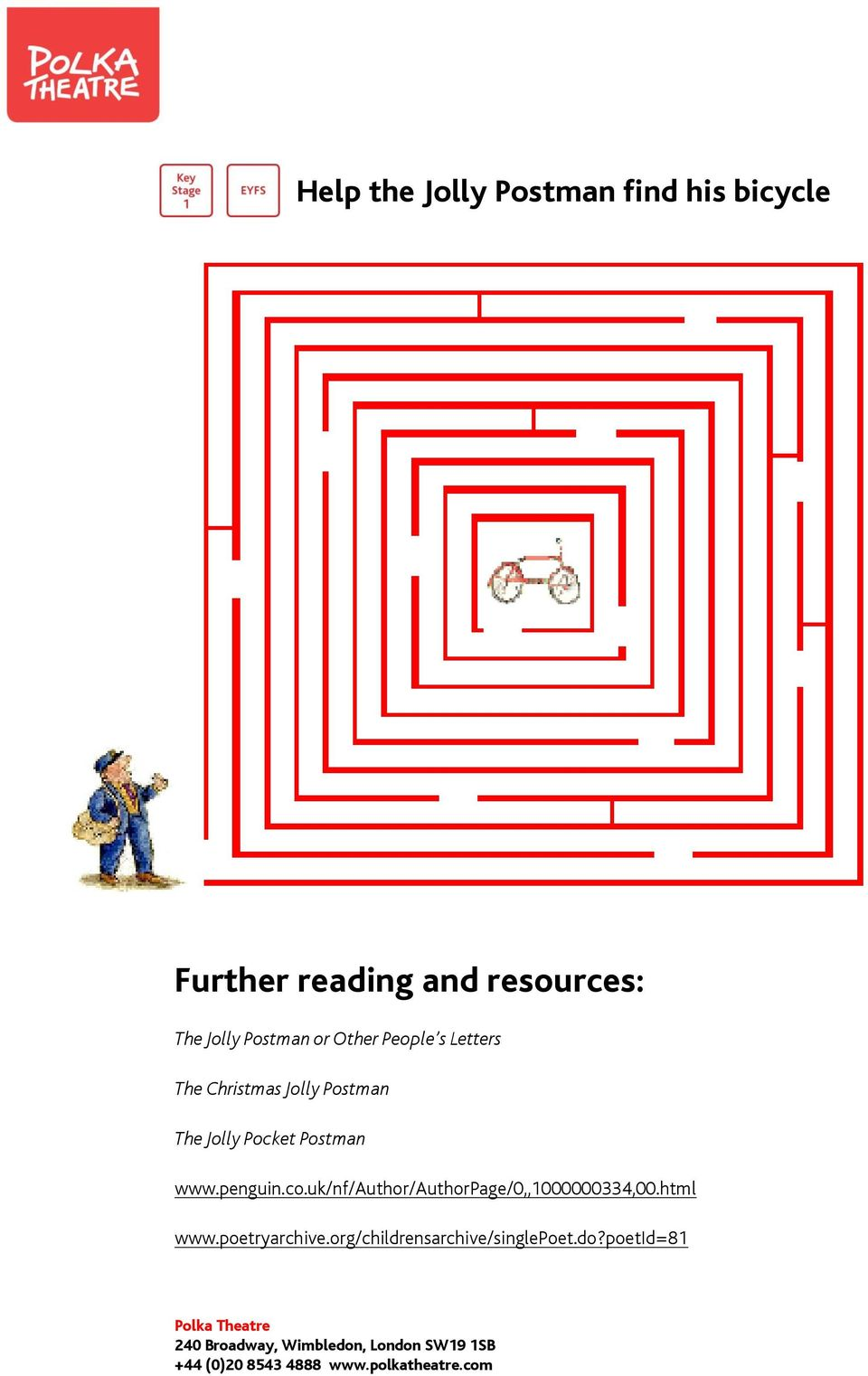 Activity Pack The Jolly Postman - PDF