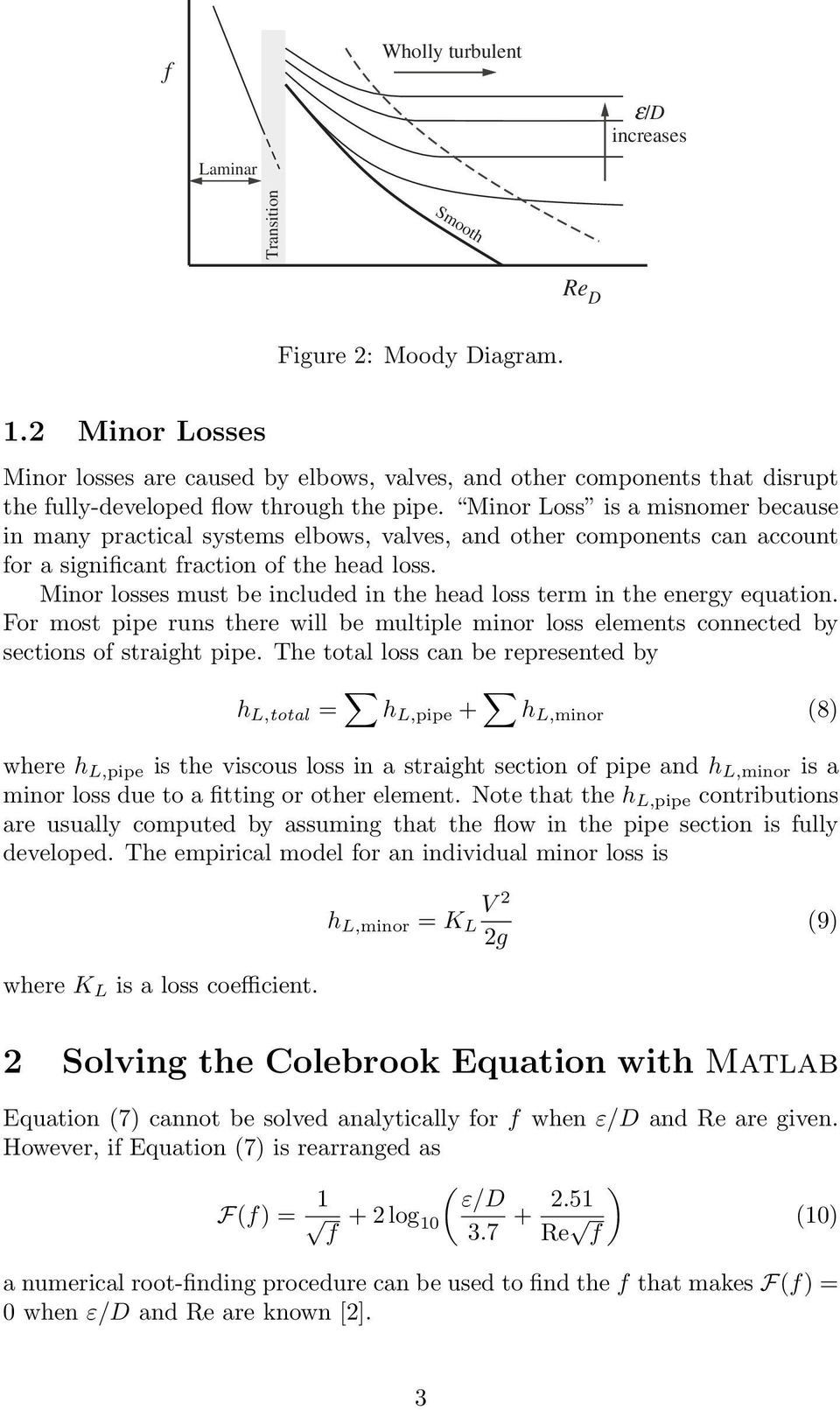 Pipe Flow Analysis with Matlab - PDF