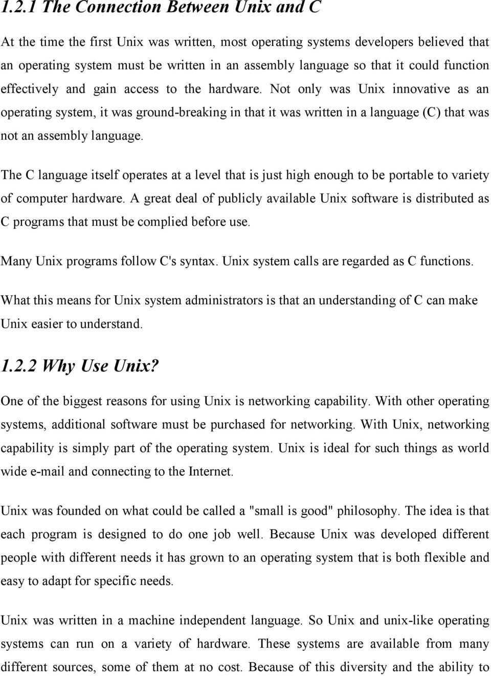 Starting Of Unix and Text Manipulation and userto-user - PDF
