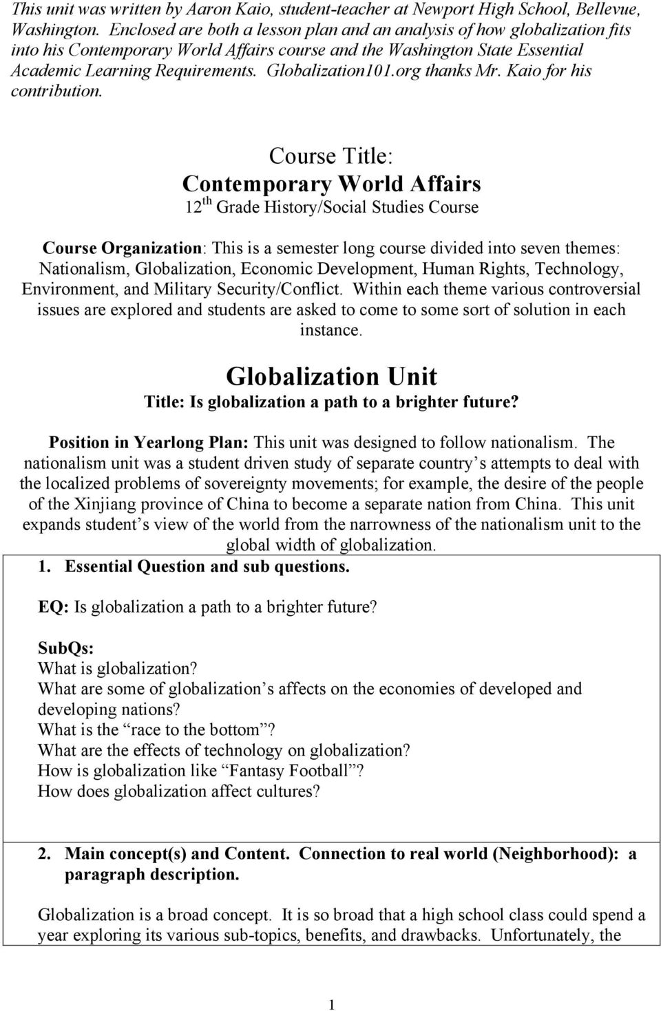 how does globalization affect culture