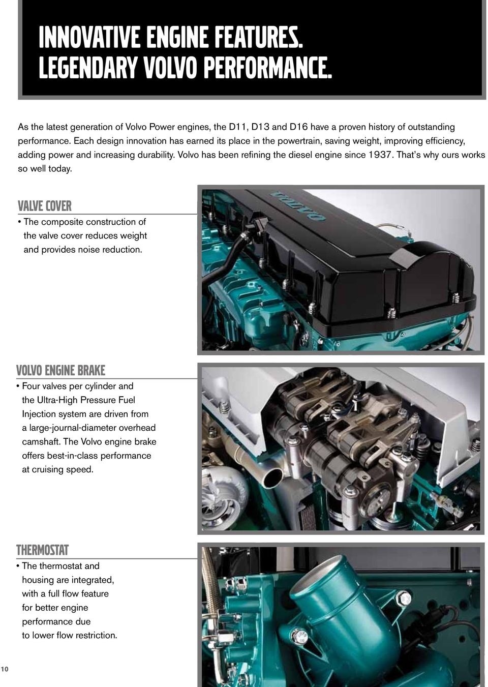 volvo power D16/D13/D11 powertrain - product tour - PDF