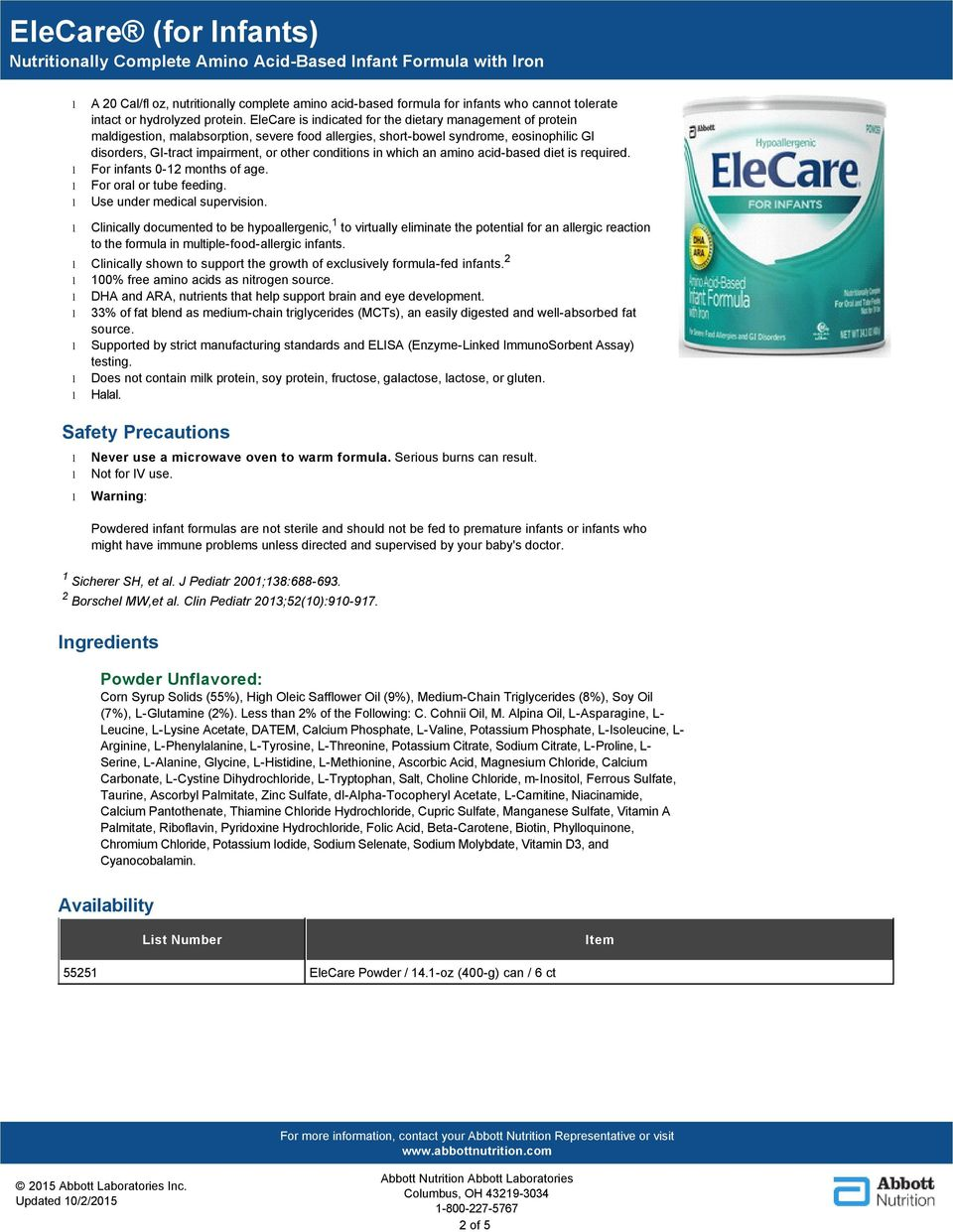 Product Category: Therapeutic - PDF