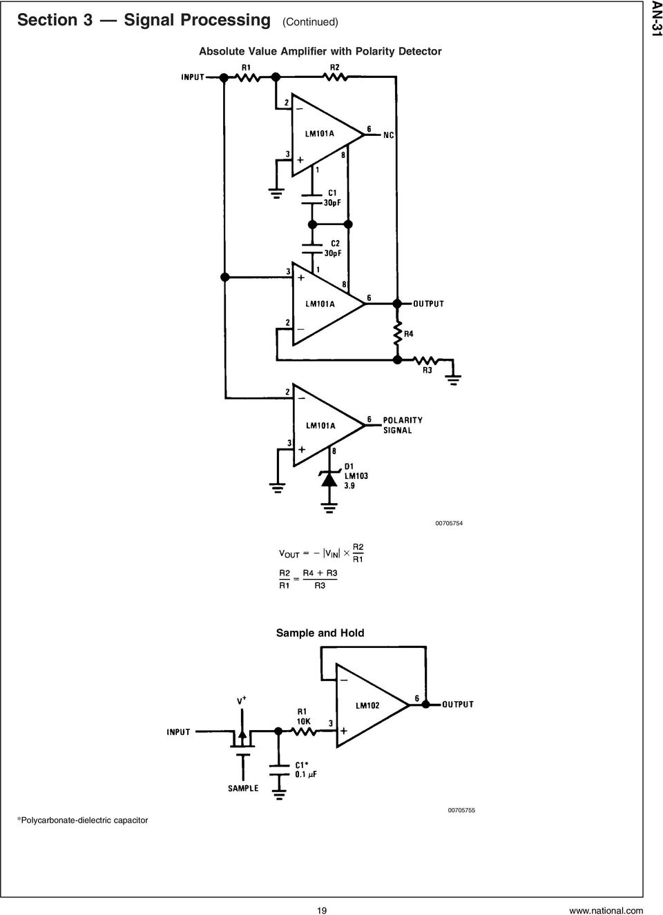 Op Amp Circuit Collection Pdf Ic Lf351electromagnetic Field Sensor Free Electronic Detector 00705754 Sample And Hold