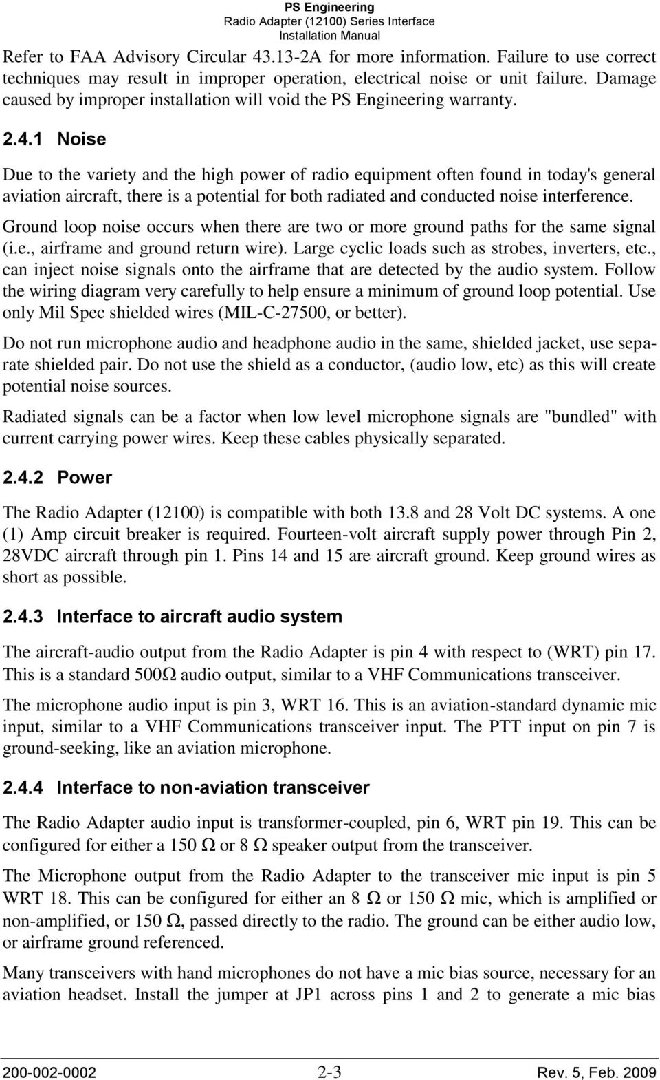 Tactical Radio Adapter Pdf Dynamic Microphone Wiring Diagram 1 Noise Due To The Variety And High Power Of Equipment Often Found In