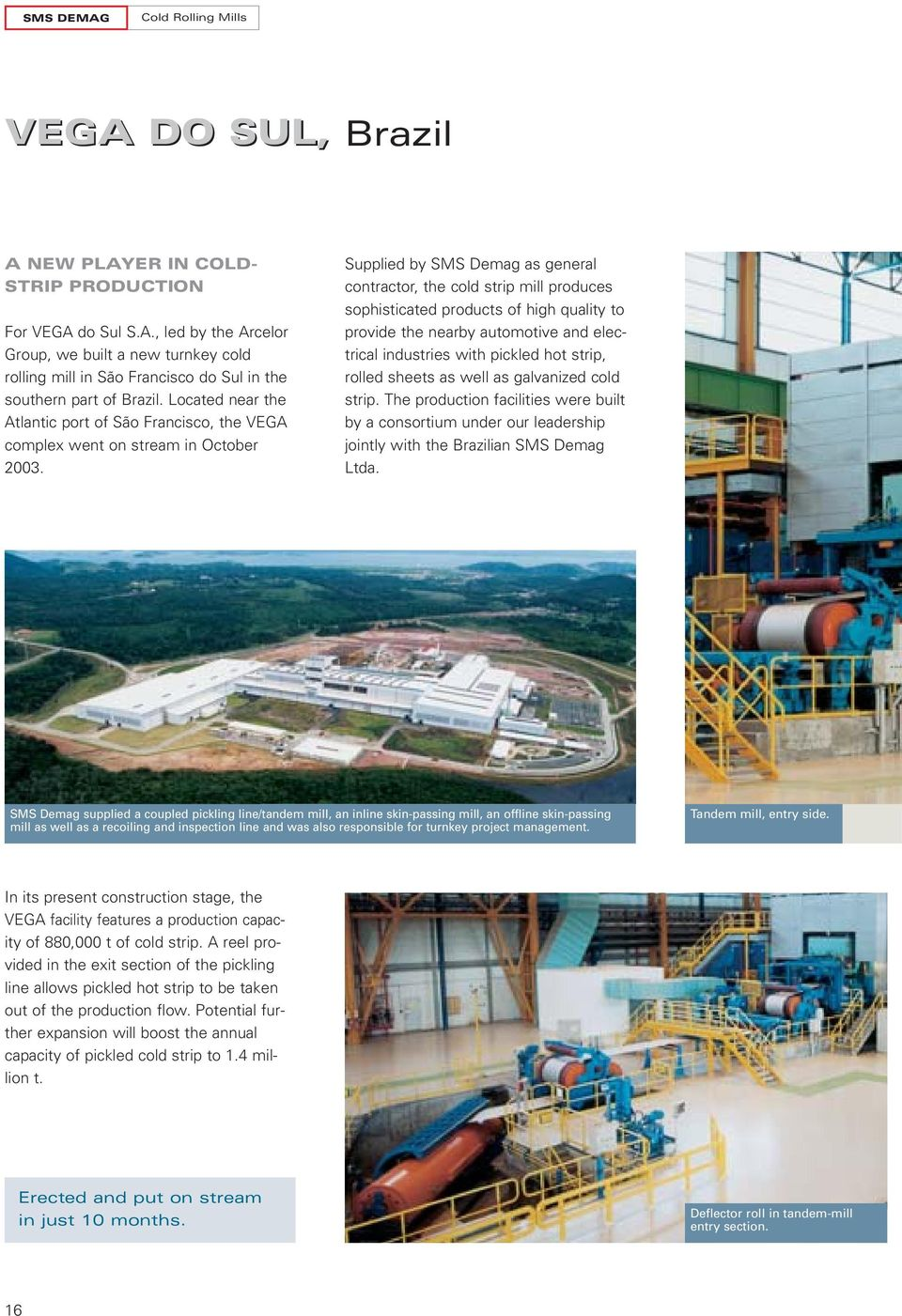 HIGH-TECH TANDEM MILLS Latest references in steel processing - PDF