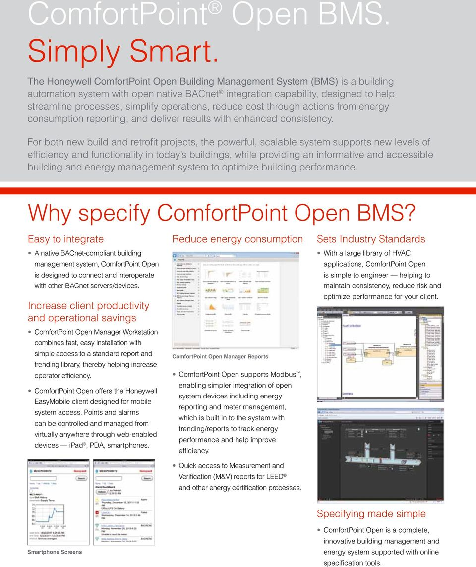 operations, reduce cost through actions from energy consumption reporting,  and deliver results with enhanced