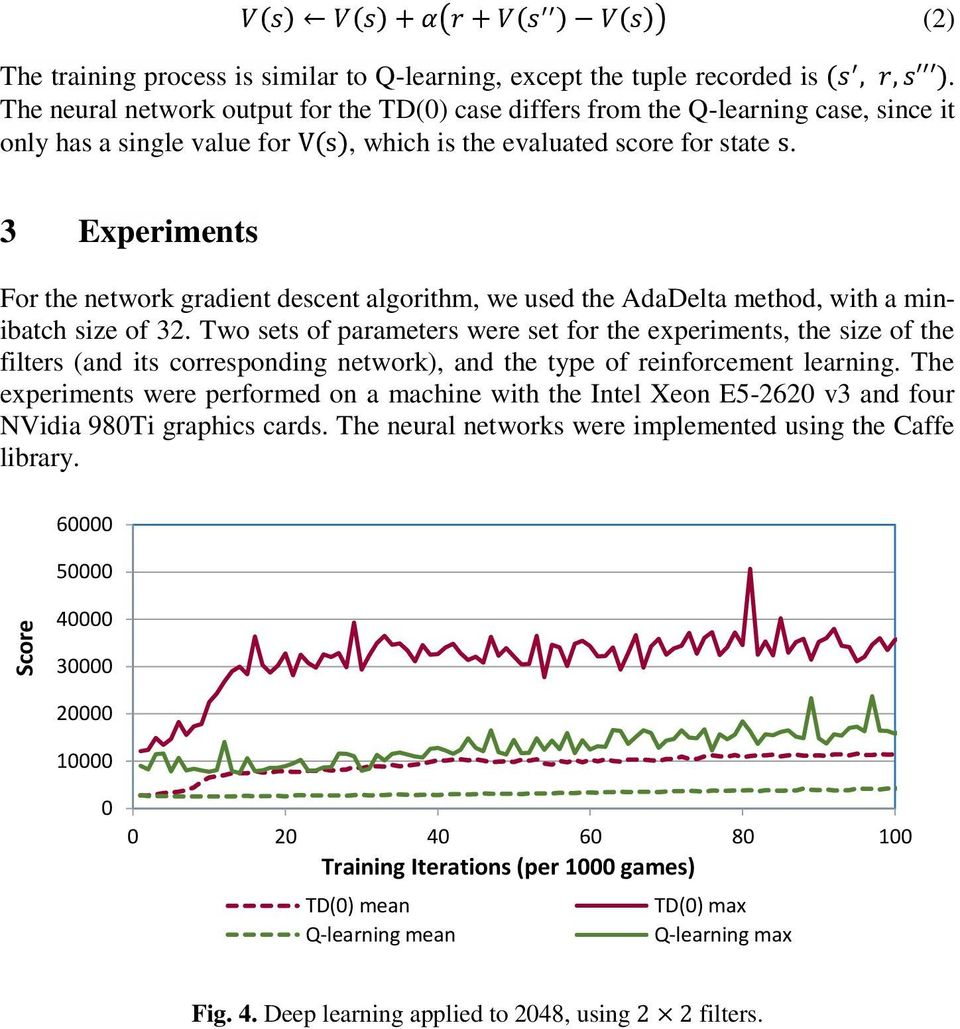 An Early Attempt at Applying Deep Reinforcement Learning to the Game PDF