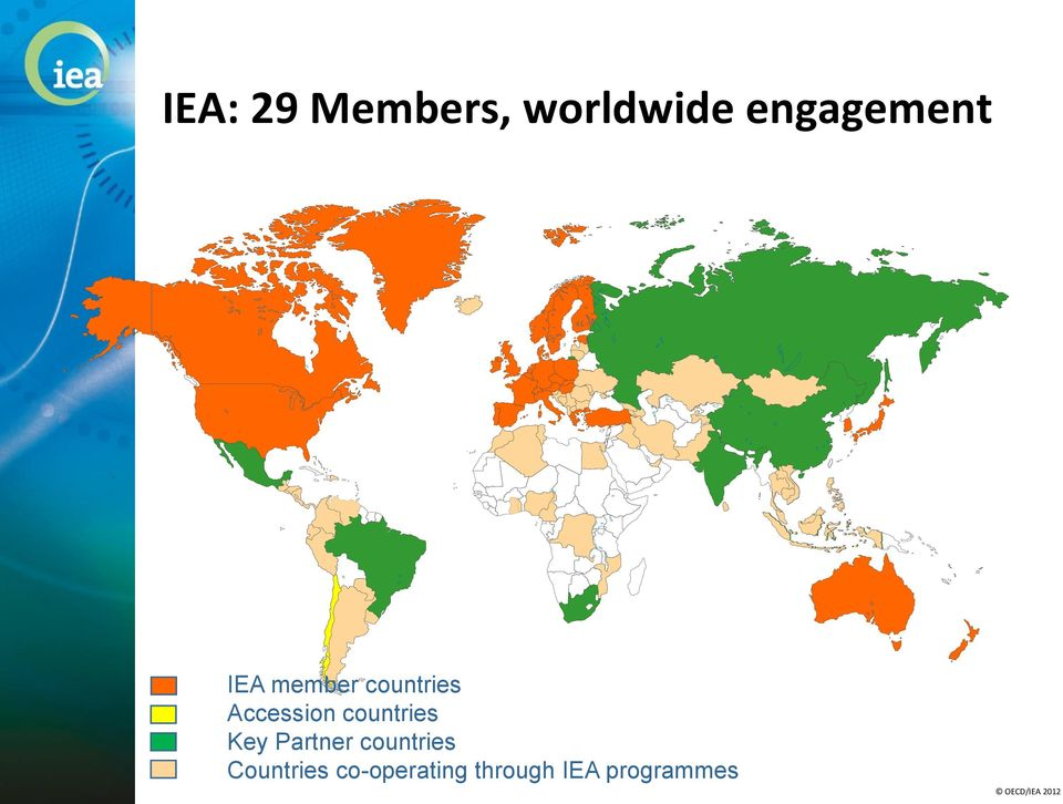 Accession countries Key Partner