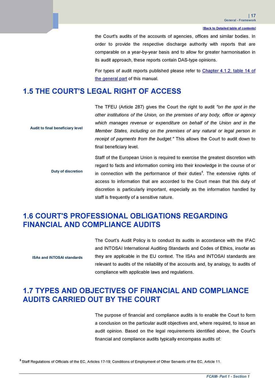 For types of audit reports published please refer to Chapter 4.1