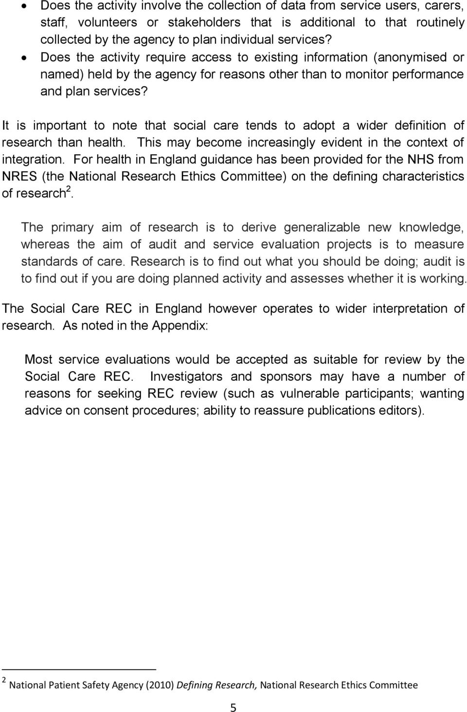 why is research important in health and social care
