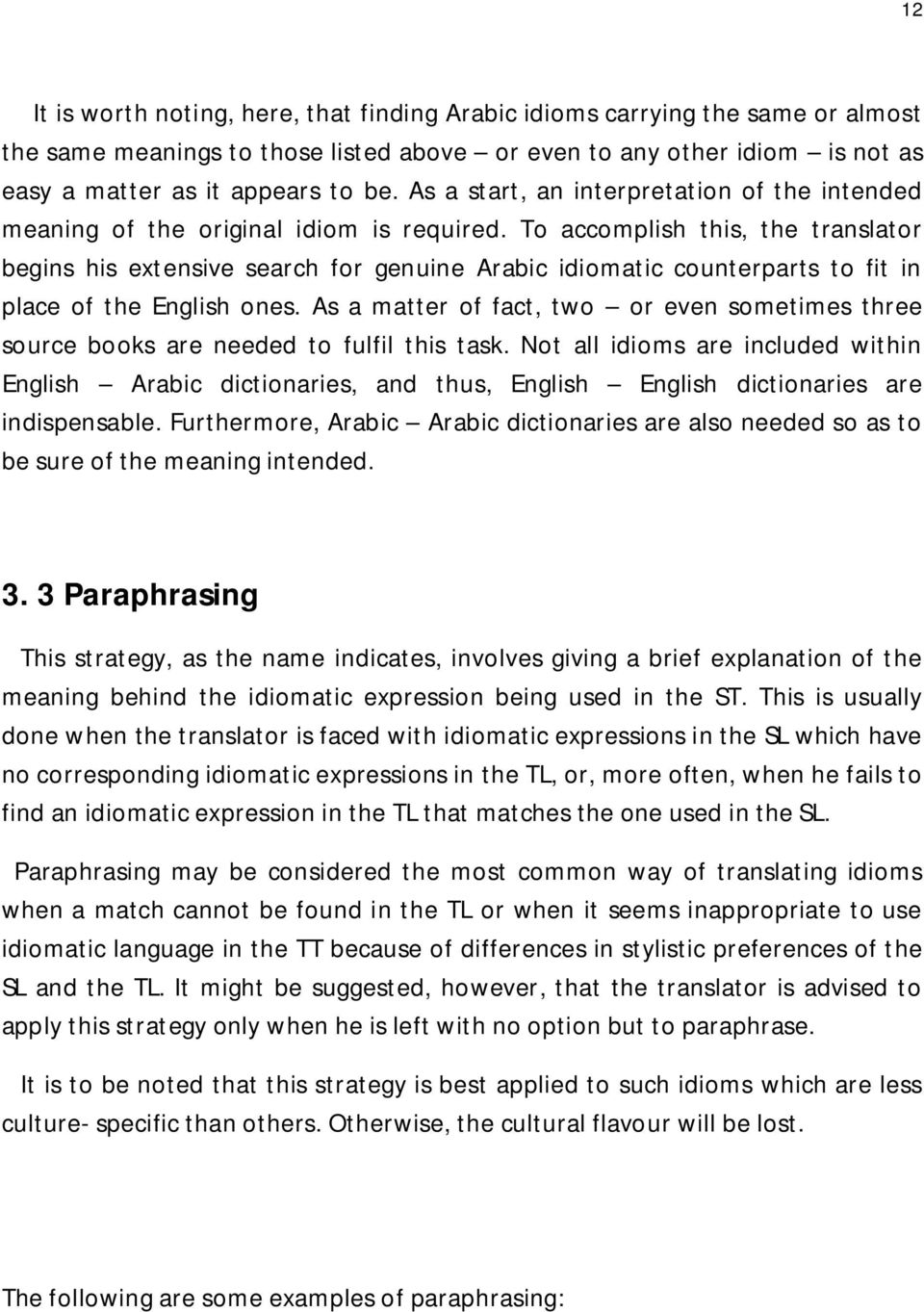 OVERCOMING DIFFICULTIES IN TRANSLATING IDIOMS FROM ENGLISH