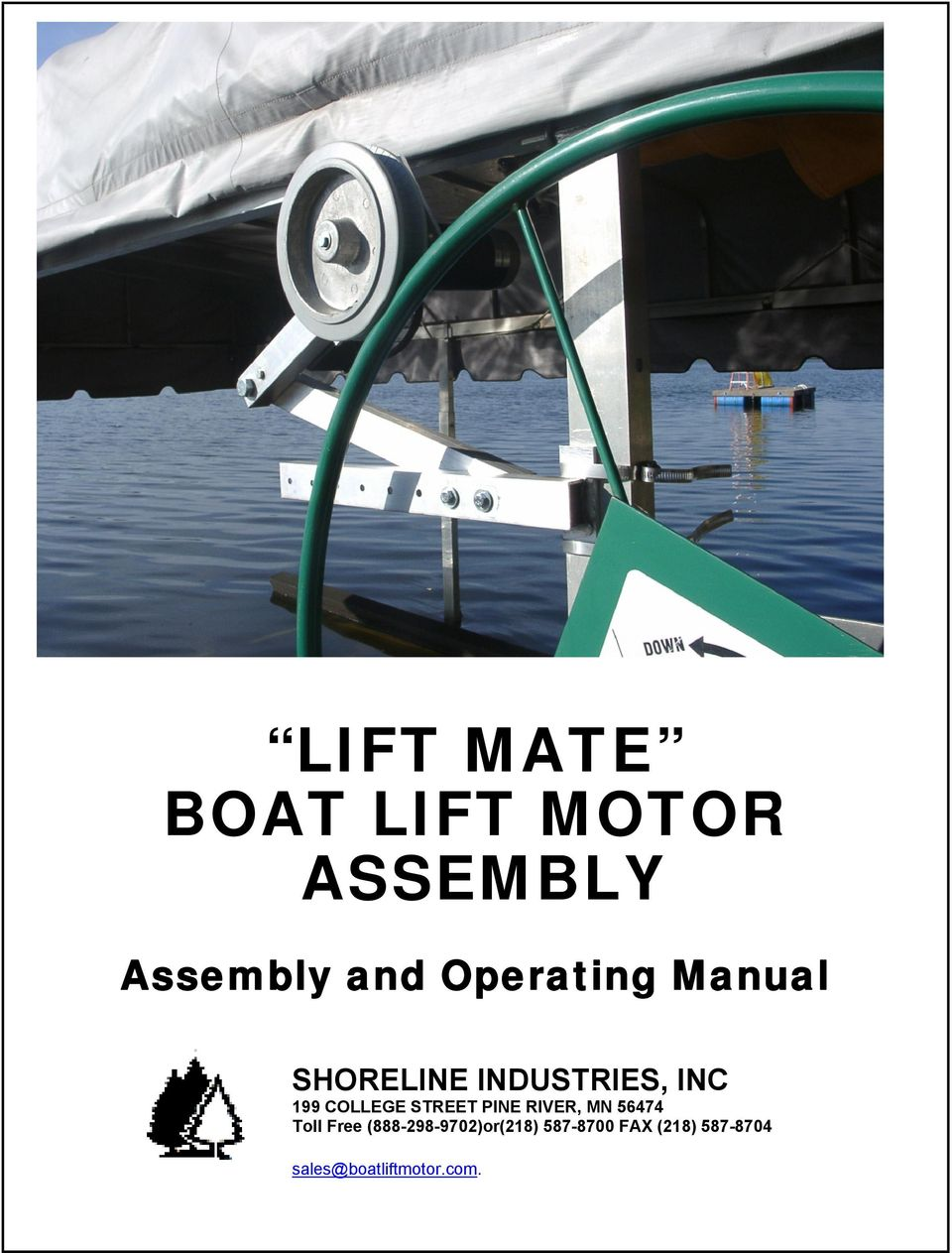 LIFT MATE BOAT LIFT MOTOR ASSEMBLY - PDF