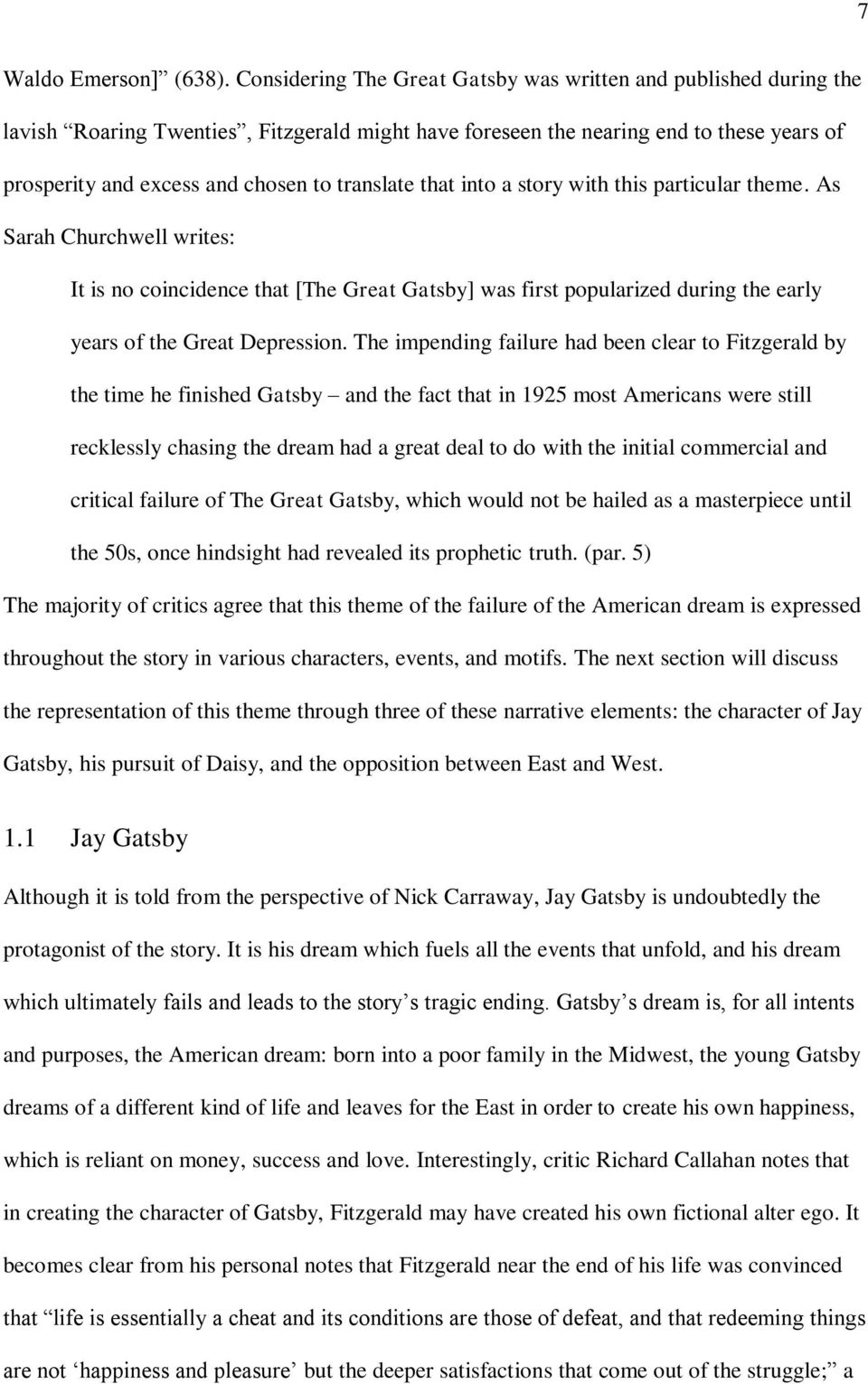 Adaptations Of The Great Gatsby Pdf