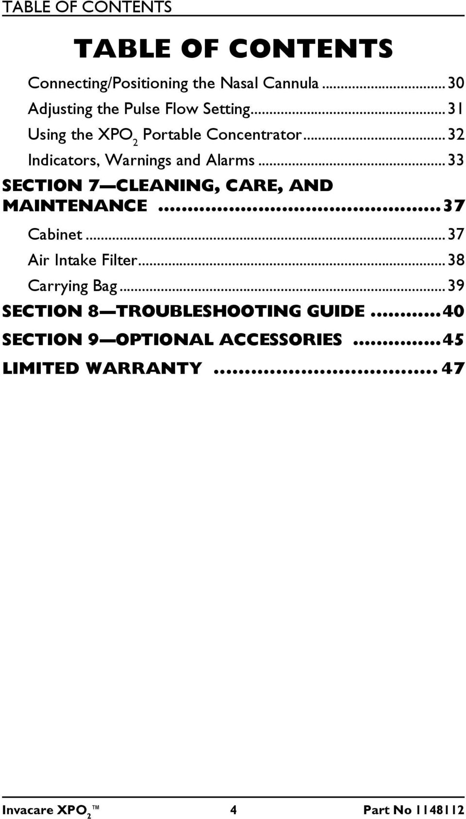 xpo2 repair manual