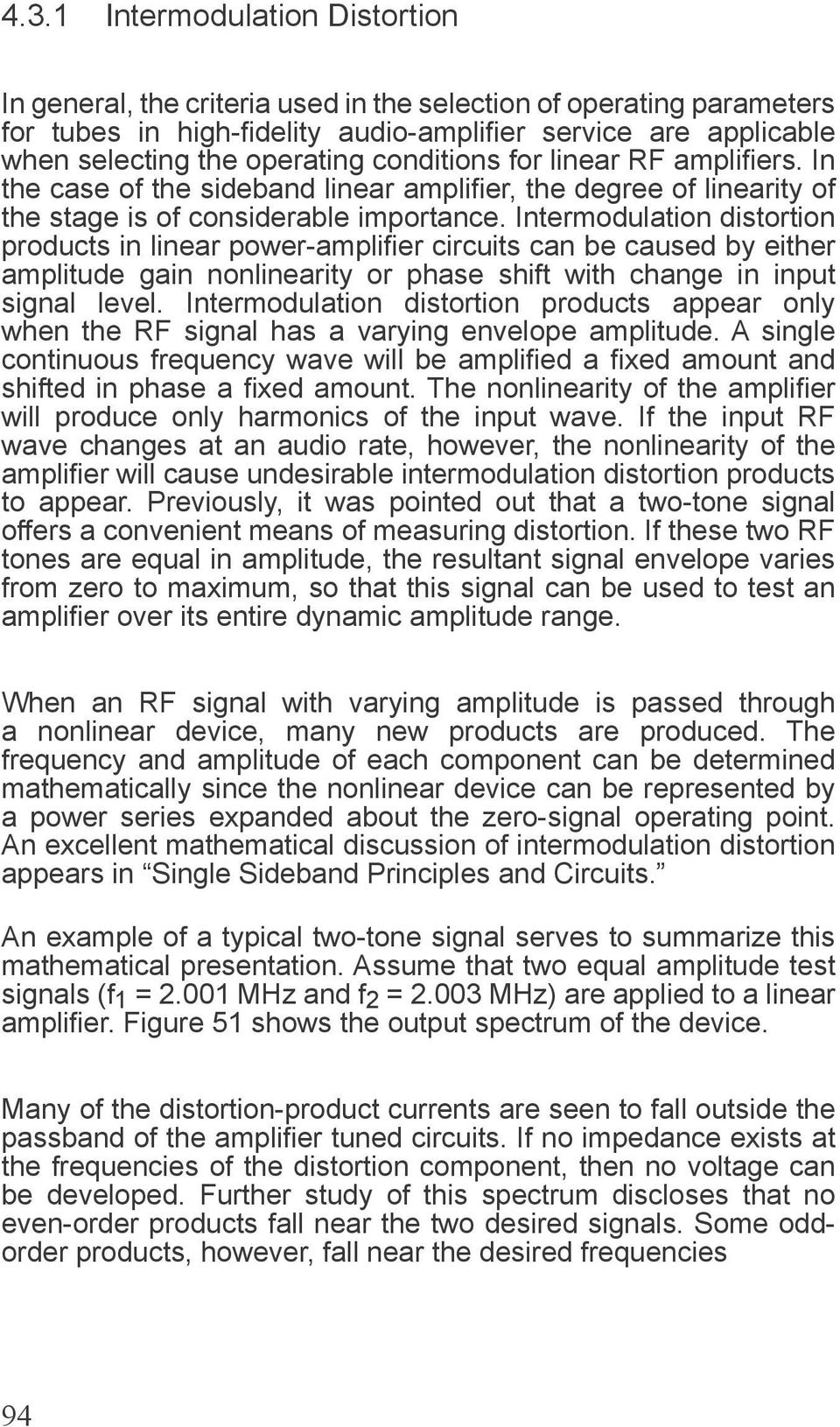LINEAR AMPLIFIER AND SINGLE SIDEBAND SERVICE - PDF