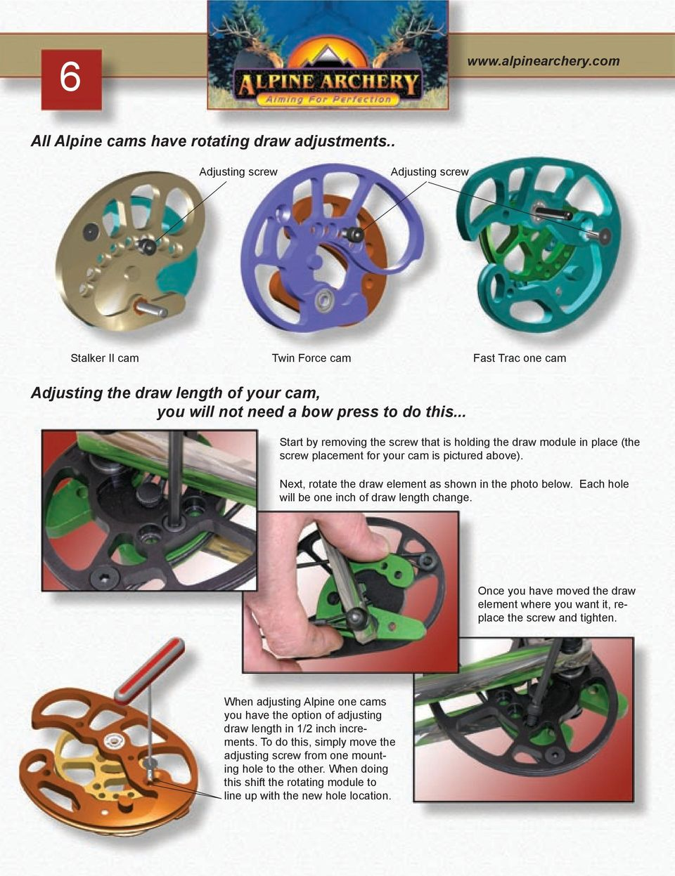 Alpine Archery Owner s Manual - PDF Free Download