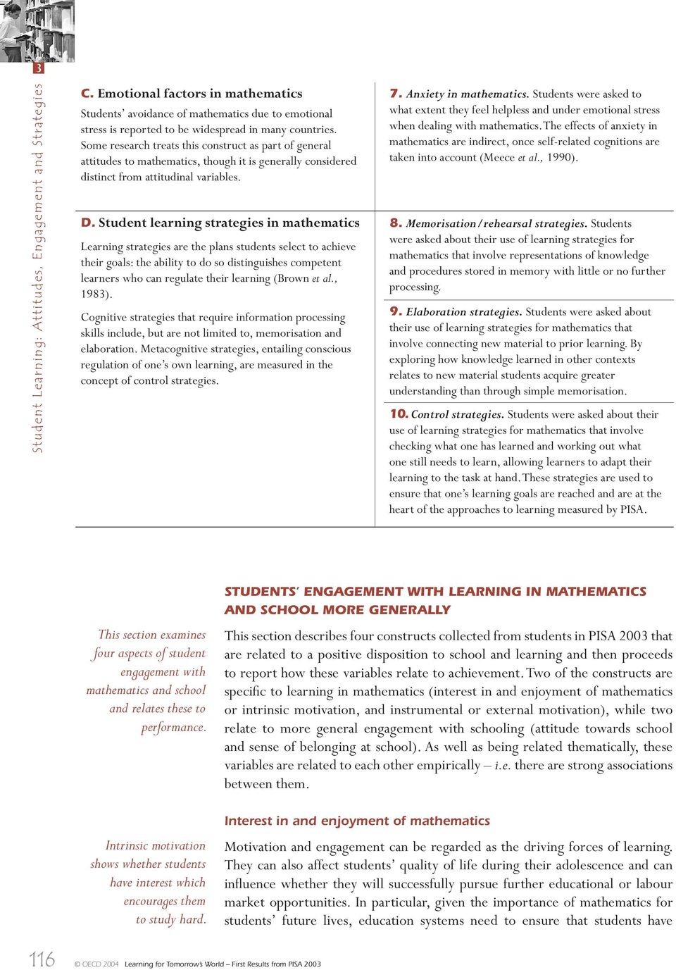 Student Learning: Attitudes, Engagement and Strategies - PDF