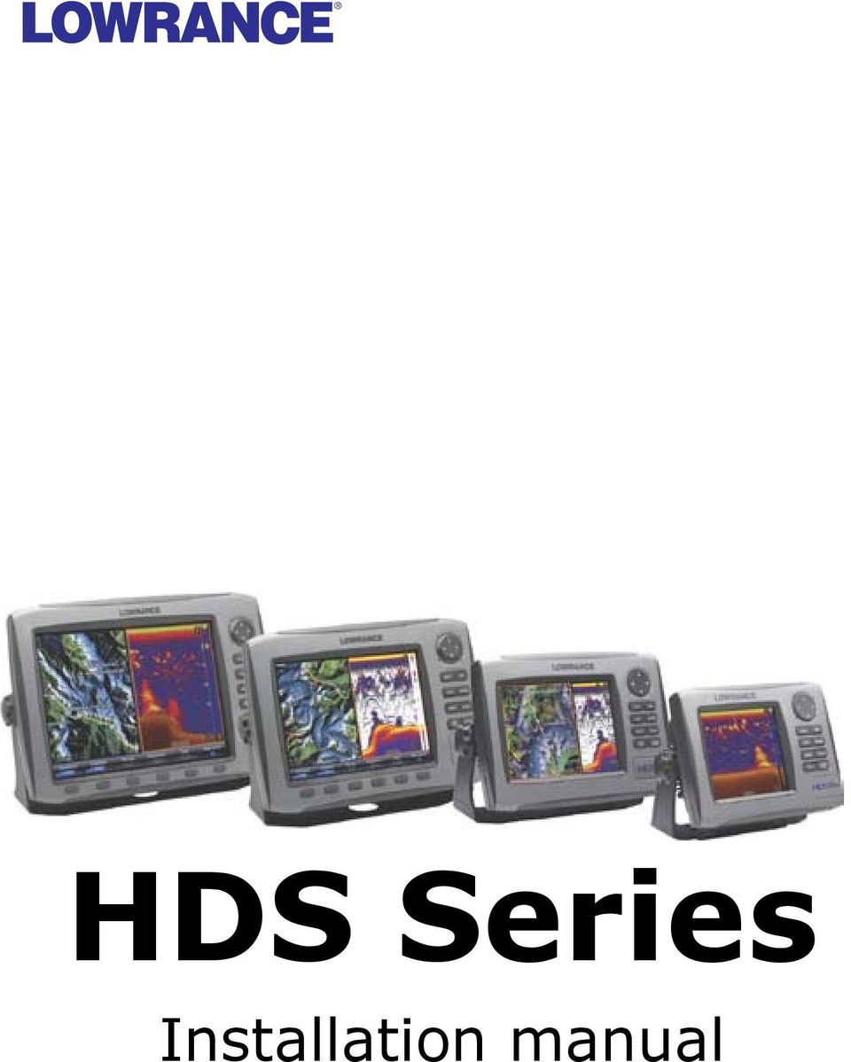 Hds Series Installation Manual Pdf Rj45 Wall Jack Wiring Diagram Also Lowrance Elite In 2 Preface Disclaimer As Navico Is Continuously Improving This Product We Retain The Right To Make Changes At Any Time Which May Not Be