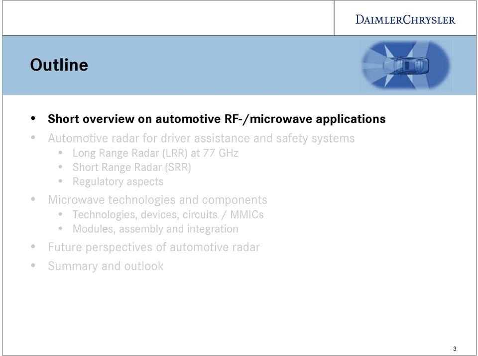 RF-Applications in Vehicles Today and Tomorrow Josef Wenger - PDF