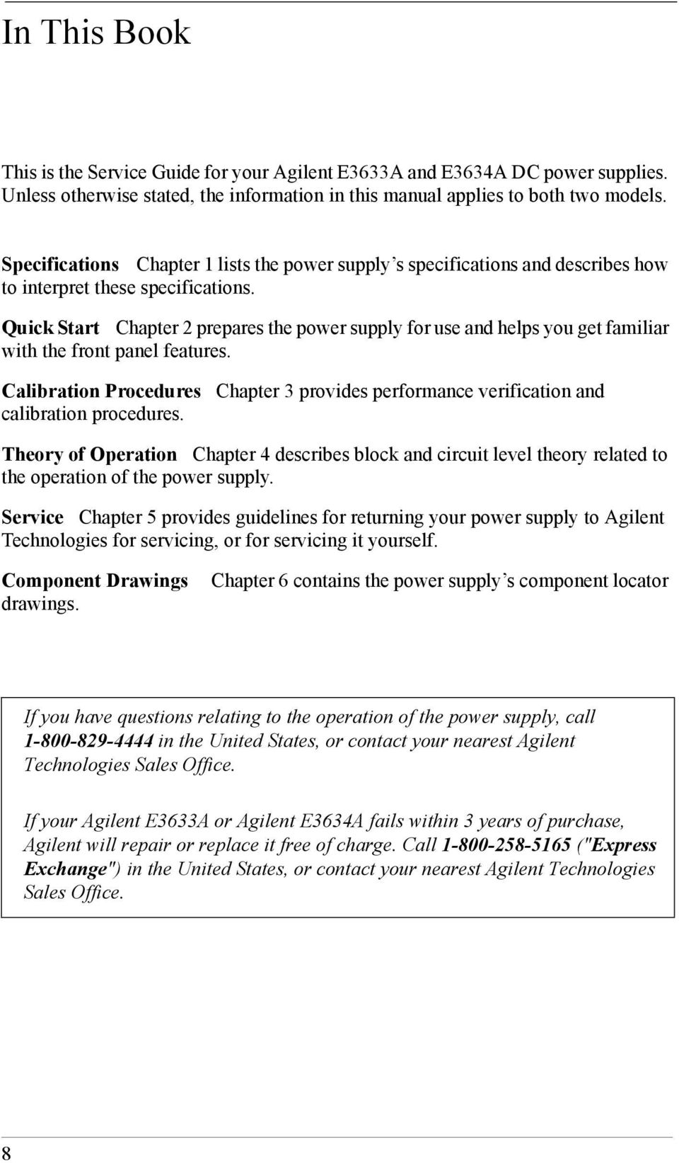 Agilent E3633a And E3634a Dc Power Supplies Pdf Figure 3 Electronic Load Circuit Constant Voltage Cvoperation Quick Start Chapter 2 Prepares The Supply For Use Helps You Get Familiar With