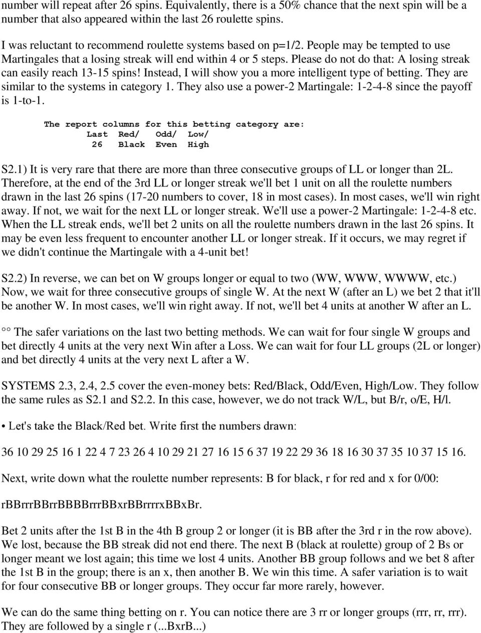 Sp commands 1-3 2-4 betting system how to read odds ratio betting online