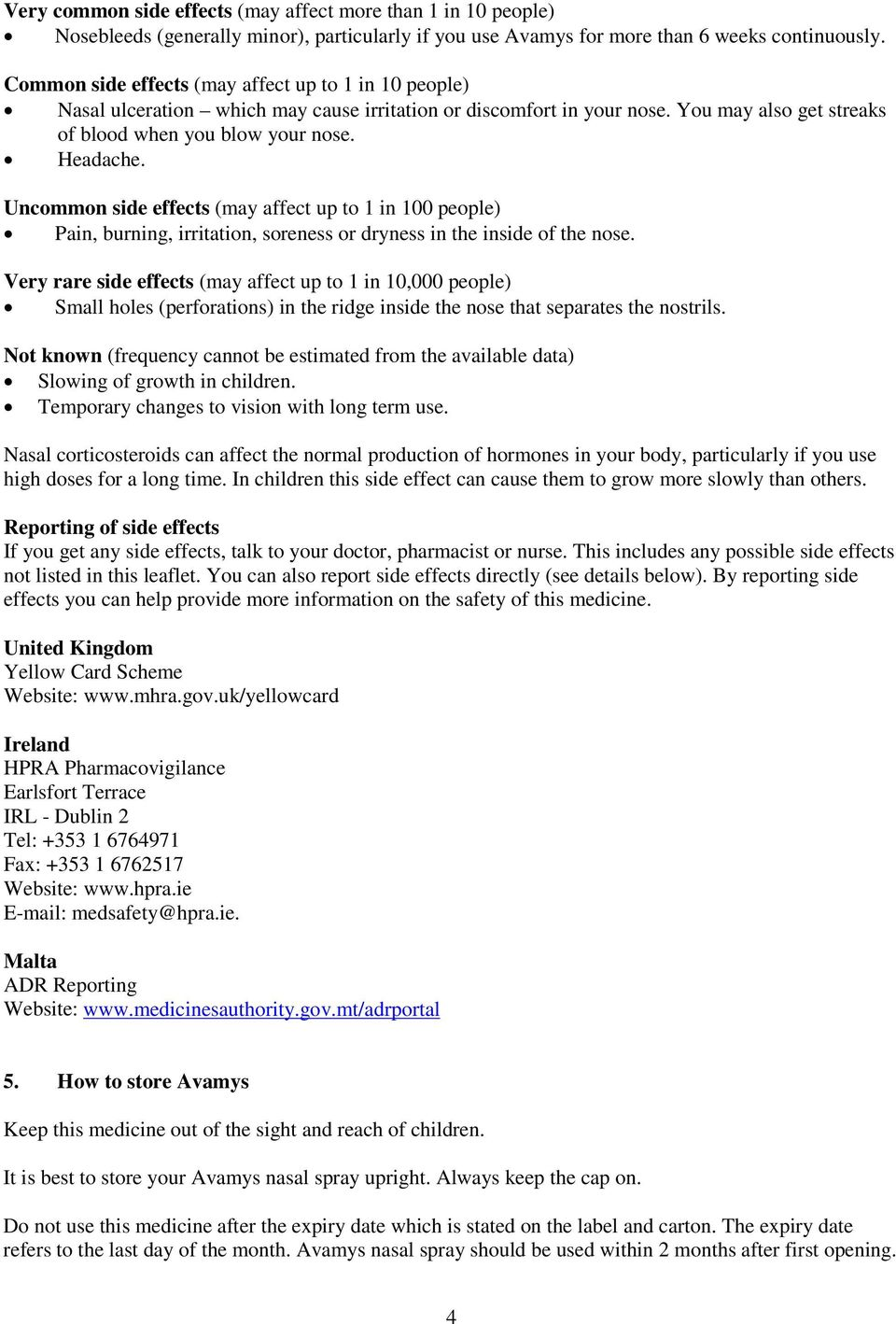 Package leaflet: Information for the user  Avamys 27 5