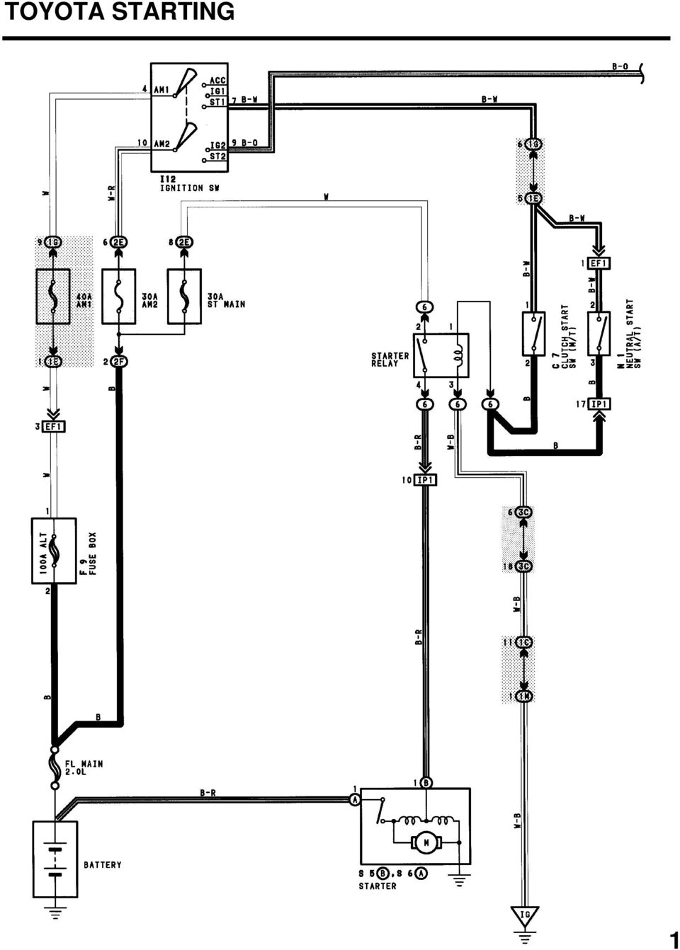 Practice Electrical Wiring Diagrams Pdf Toyota Lucida Diagram 5 Starting 1