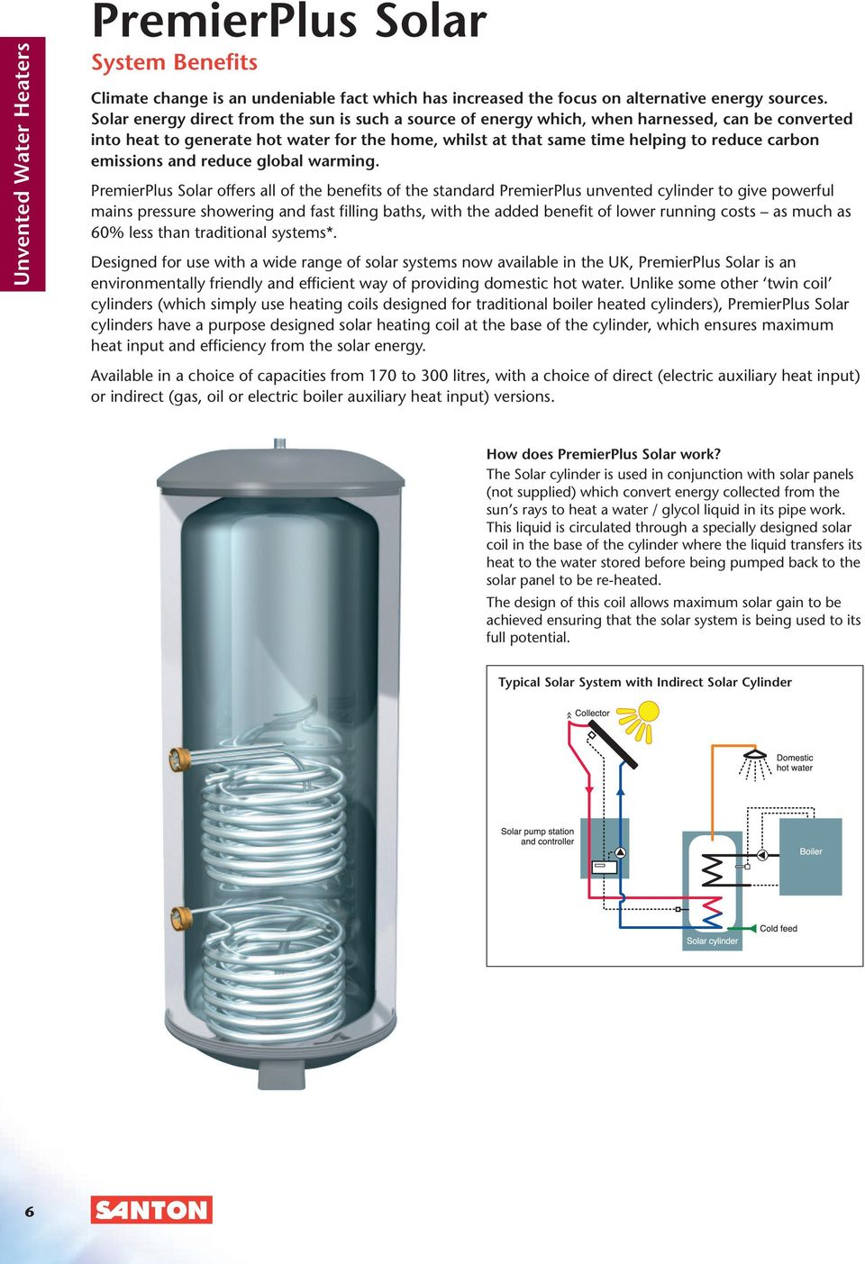 CI/SfB. (53.3) x. August Unvented Water Heaters. PremierPlus ...