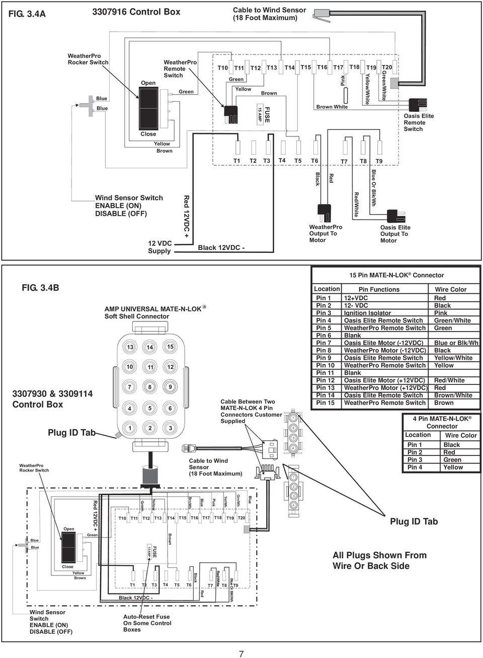 Diagnostic Service Manual Pdf Yamaha 704 Control Wiring Diagram Switch Brown T T3 T4 T5 T6 T7 T8 T9 Wind Sensor Enable On