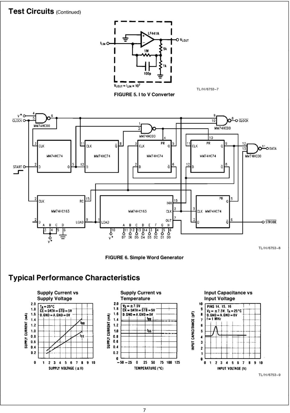 Lmc835 Digital Controlled Graphic Equalizer Pdf Band Schematic Design Characteristics Supply Current Vs Voltage