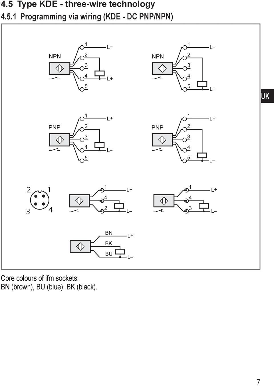 Ifm Capacitive Proximity Sensor Wiring Diagram 5 Wire Operating Instructions Sensors Pdf On Accessories Usb 20 Pinout