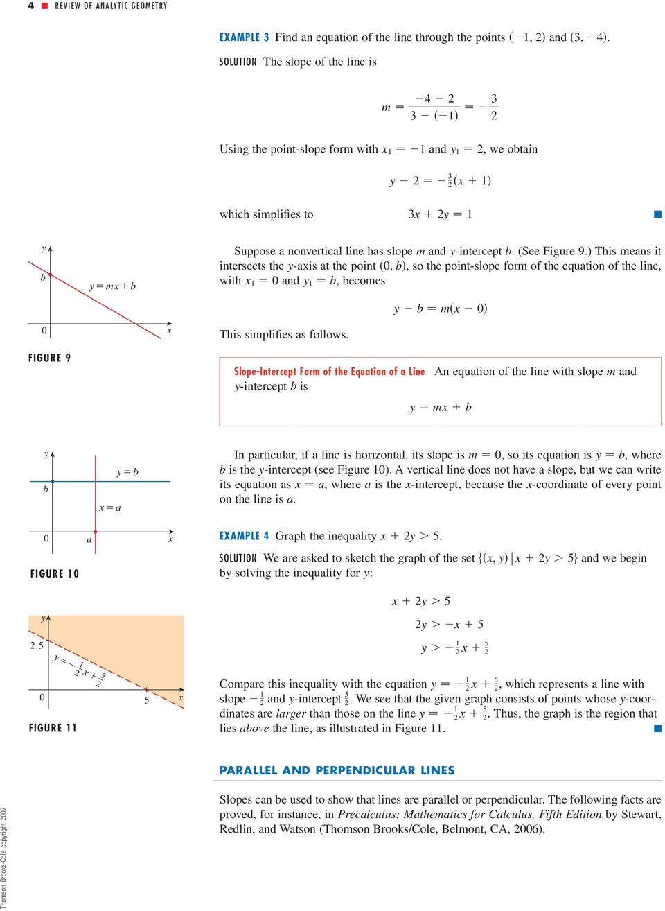 Review Of Analytic Geometry Pdf