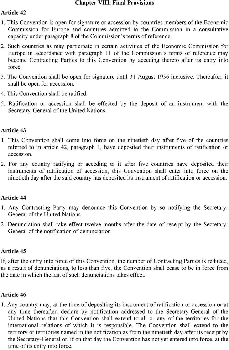 the Commission s terms of reference. 2.
