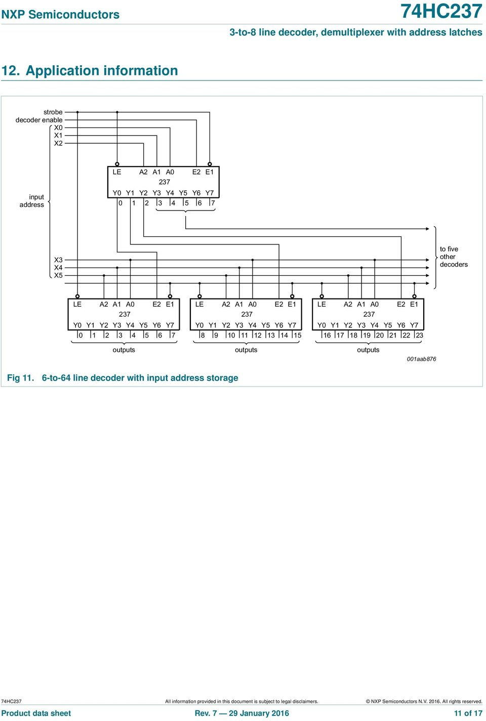 3 To 8 Line Decoder Demultiplexer With Address Latches Pdf Multiplexer And Circuit Diagrams Applications Provided In This Document Is Subject Legal Disclaimers