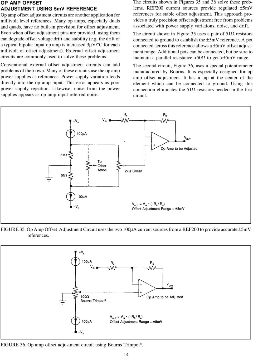 Design Of Fixed Current Sources Pdf The Circuit Below Uses A Low Cost Opamp To Add Precise G Drift Typical Bipolar Input Op Amp Is Increased 3v C