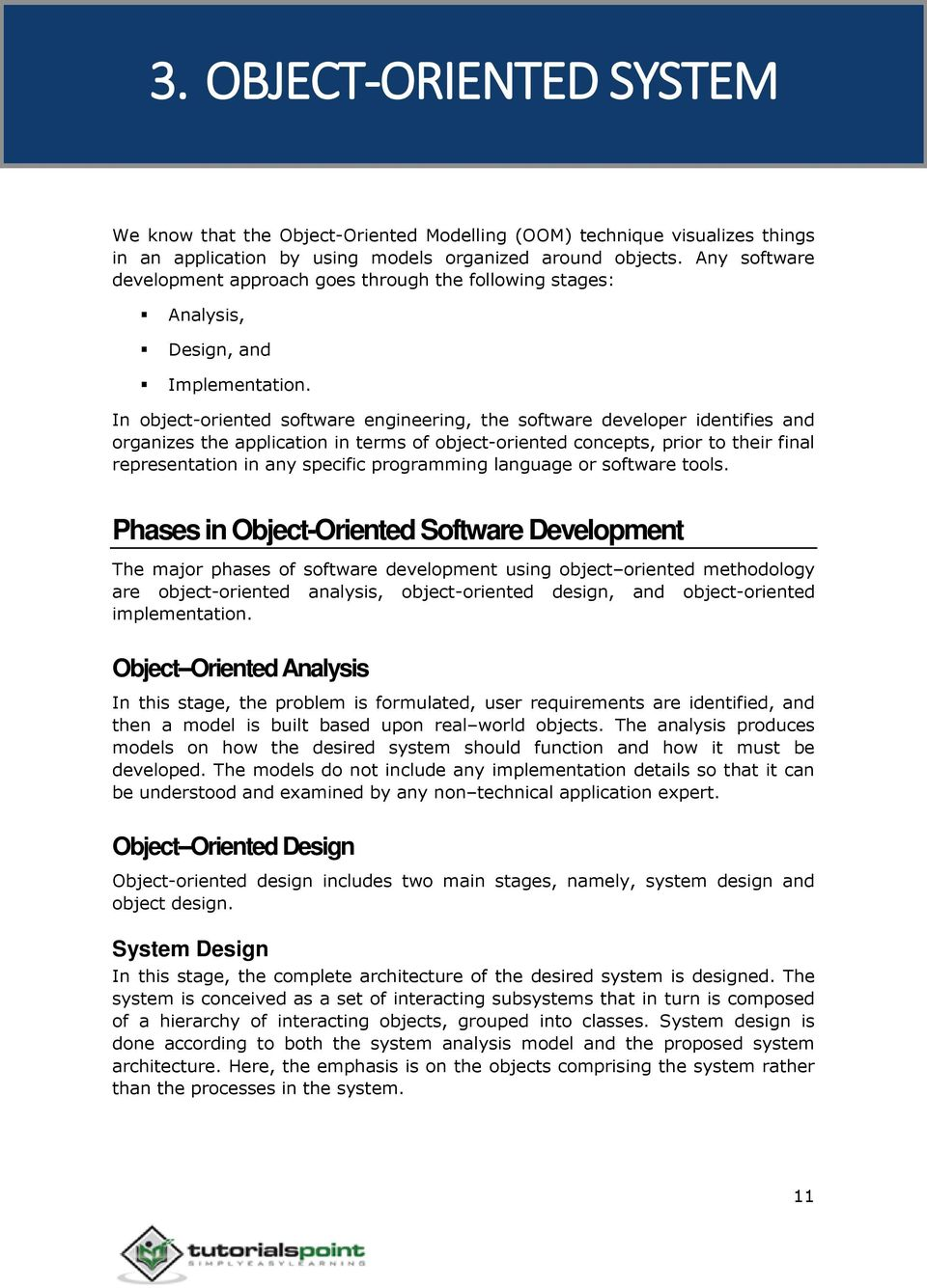 Object Oriented Analysis Design Pdf Free Download