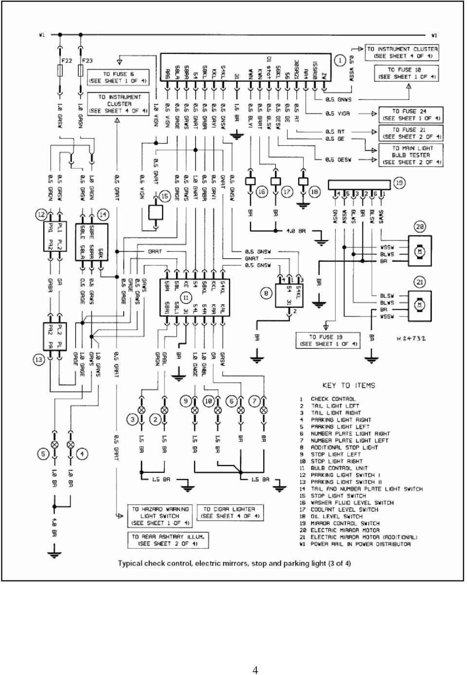 Colour Codes Diagrams Index Pdf Thread A C Not Working Coolant Module Pinout Diagram 1999 20 Sri 4