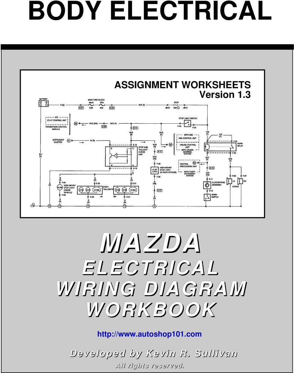 [XOTG_4463]  BODY ELECTRICAL MAZDA - PDF Free Download | Mazda Electrical Wiring Diagram Workbook |  | DocPlayer.net