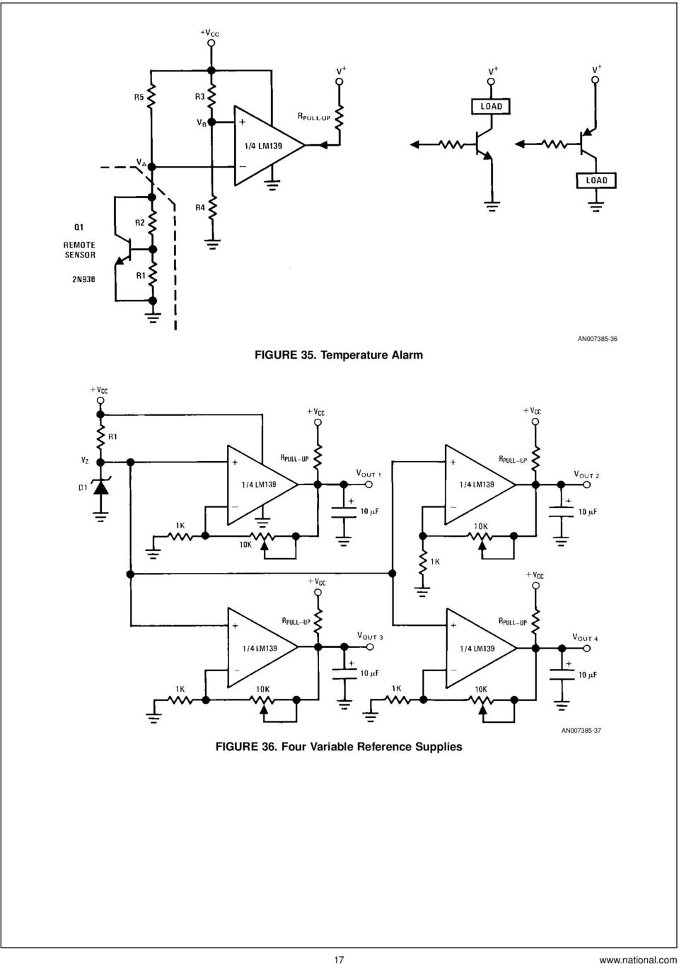Lm139 Lm239 Lm339 A Quad Of Independently Functioning Comparators Pdf Circuit Used In Experiment The Diode Is 1n914 Silicon Four Variable Reference