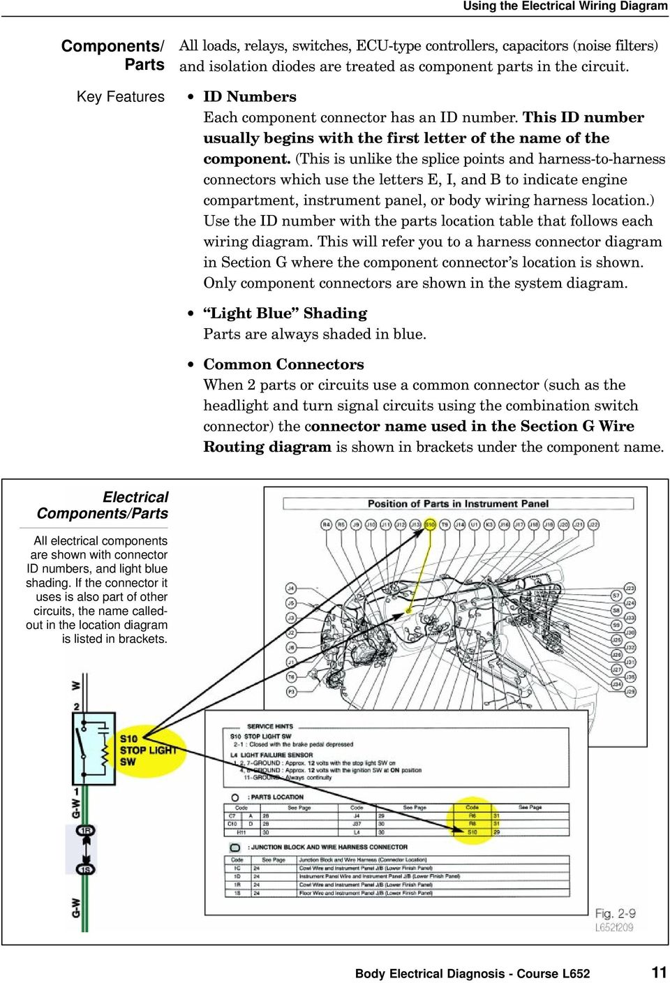 Using The Electrical Wiring Diagram Pdf Splice This Is Unlike Points And Harness To Connectors Which Use Letters