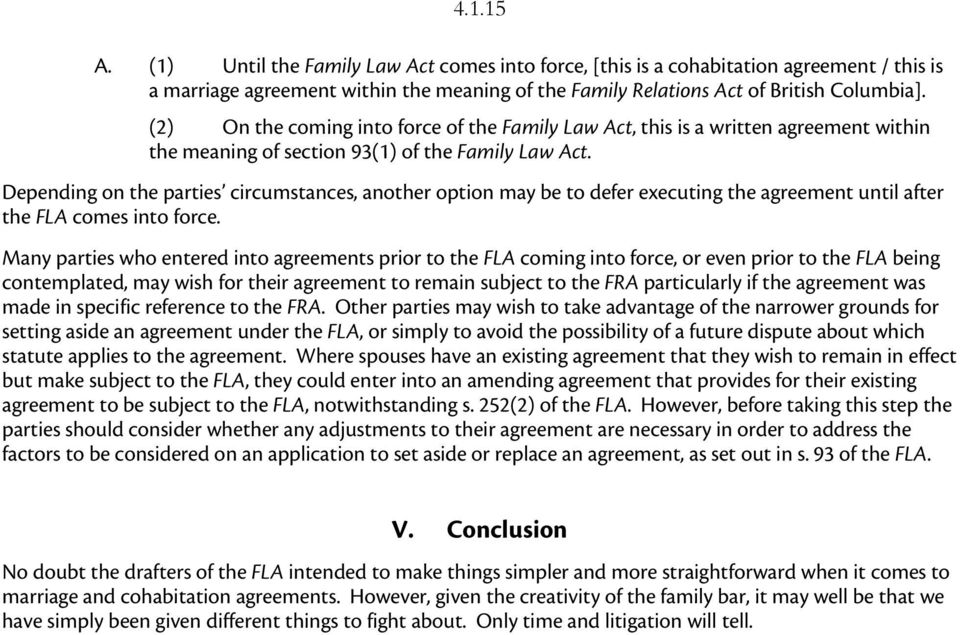 Marriage And Cohabitation Agreements Drafting And Setting Aside
