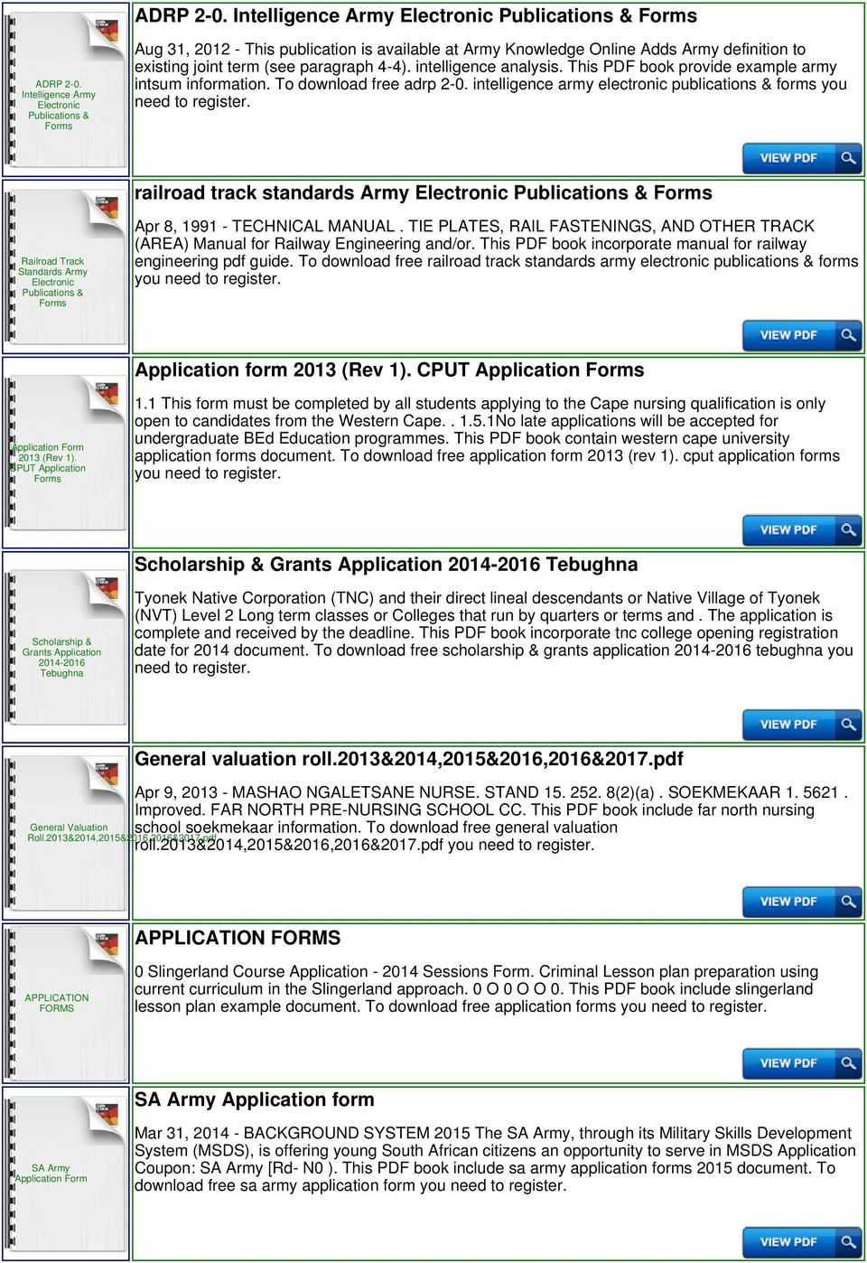 intelligence army electronic publications & forms you need to railroad  track standards Army Railroad Track Standards